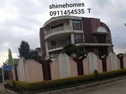 G + 1 House for rent in Bole Shola Area for 4500 USD per month